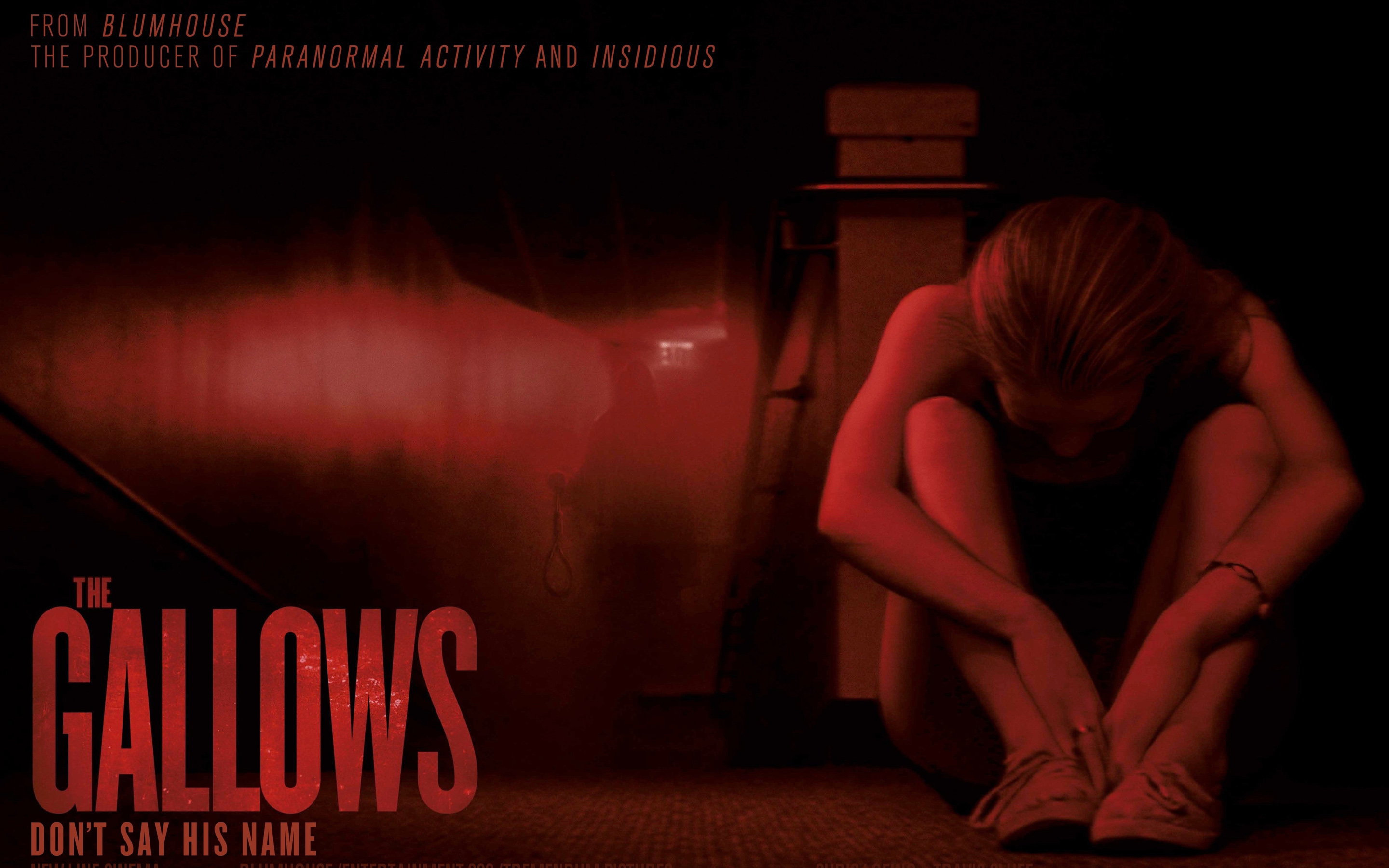 The Gallows 2015 Horror Movie Poster HD Wallpaper copy